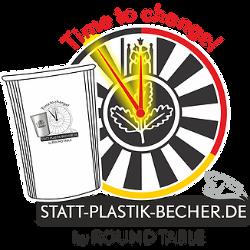 Statt-Plastik-Becher